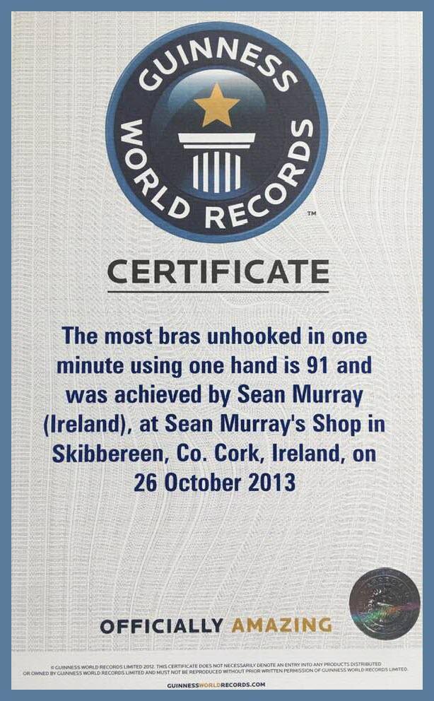 Oct 2013 Guinness world record border