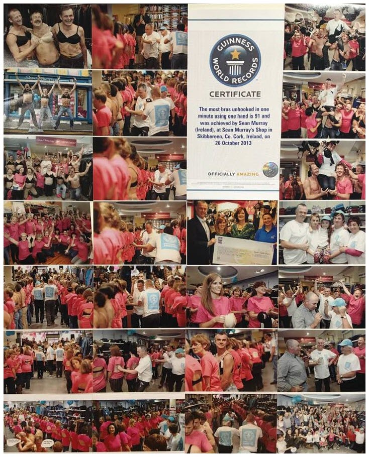 Oct 2013 Guinness world record collage