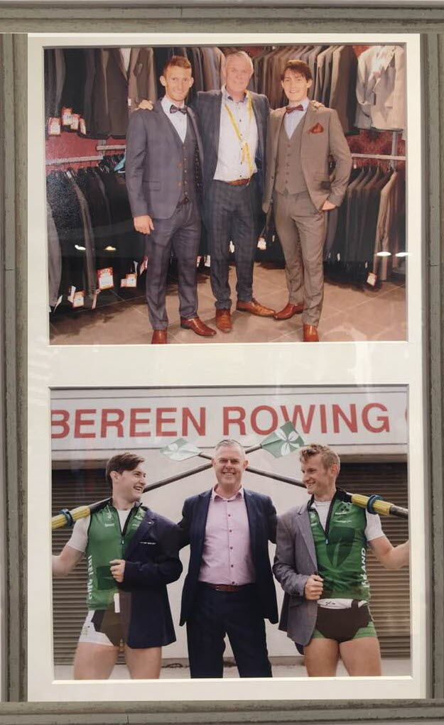 Olympic Rowers fRAMED2